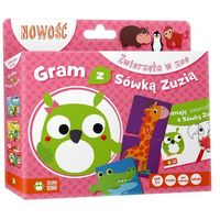 Gry dla dzieci, Gram z Sówką Zuzią. Zwierzęta w zoo (Książka +gra)