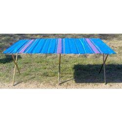 Składany stół do handlu BARDZO MOCNY długość ok.2m + szeroki blat