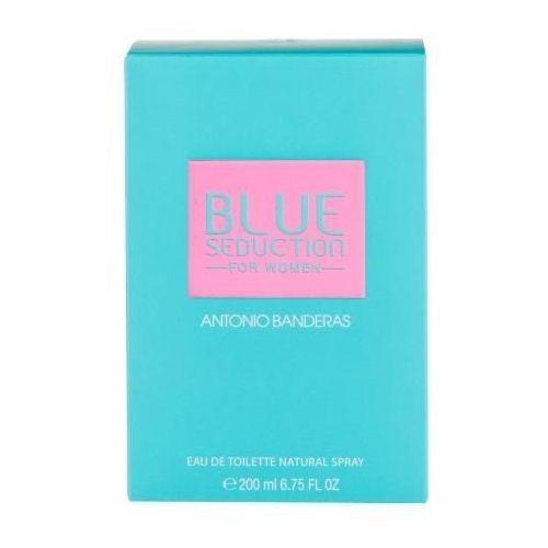 Wody toaletowe damskie, Antonio Banderas Blue Seduction For Woman edt 200 ml - Antonio Banderas Blue Seduction For Woman edt 200 ml