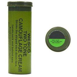 Mil-Tec Farba Maskująca Sztyft 2 Kolory Zielony i Czarny - Czarny ||Zielony