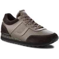 Męskie obuwie sportowe, Sneakersy TRUSSARDI JEANS - 77A00104 E150