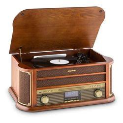 Auna Belle Epoque 1908 DAB Wieża stereo retro Gramofon DAB+ Bluetooth