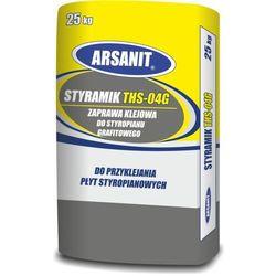 Zaprawa klejowa ARSANIT STYRAMIK THS-04G do styropianu grafitowego