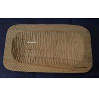 Misy i miski, Miska karpacka, drewniana, rzeźbiona 25x14 cm (ag-7)