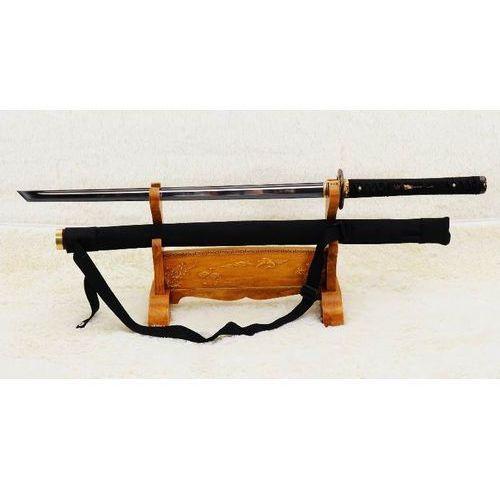 Broń treningowa, MIECZ JAPOŃSKI SAMURAJSKI NINJA DO TRENINGU, STAL WYSOKOWĘGLOWA 1095, HARTOWANY GLINKĄ R869