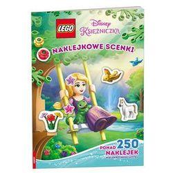 LEGO Disney Księżniczka. Naklejkowe scenki. Darmowy odbiór w niemal 100 księgarniach!