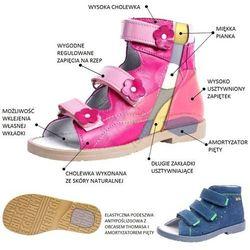 Dziecięce buty profilaktyczne Dawid 1041 - Szary