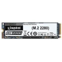 KINGSTON Dysk SSD Kingston KC2000 500GB M.2 2280 NVMe (3000/2000 MB/s ) TLC, 3D NAND