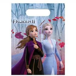 Prezentowe torebki urodzinowe Frozen 2 - Kraina Lodu - 6 szt.