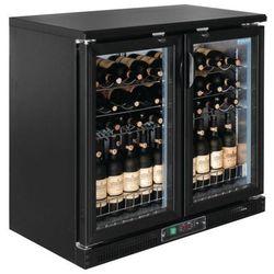 Chłodziarka na wino z drzwiami na zawiasach lub suwanymi | 920 x 920 x 535mm