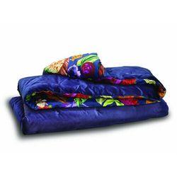 Narzuta na łóżko CHRISTIAN LACROIX z poliestru i bawełny MANOLO - 120 x 220 cm - Niebieski