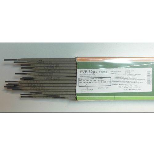 Akcesoria spawalnicze, ELEKTRODY ZASADOWE EVB 50p FI 2,5MM