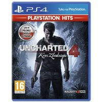 Gry na PlayStation 4, Gra Uncharted 4 PS4