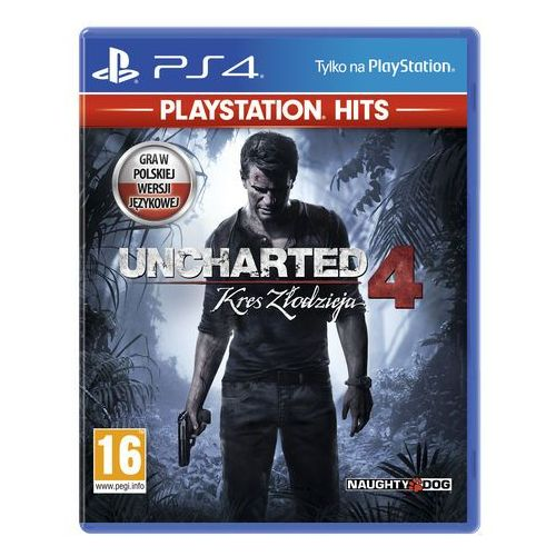 Gry na PS4, Uncharted 4 Kres złodzieja (PS4)