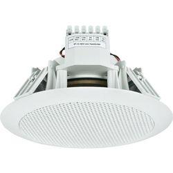 Głośnik sufitowy PA do zabudowy Monacor EDL-155, 99 dB, 70 - 18 000 Hz, 100 V, Kolor: biały, 1 szt.