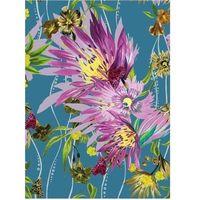 Pozostałe artykuły szkolne, Karnet B6 z kopertą Jungle Bloom
