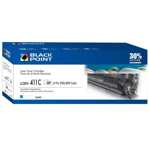 Tonery i bębny, [LCBPH411C] Toner Black Point (HP CE411A)