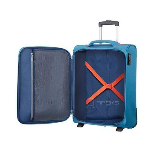 Torby i walizki, American Tourister Holiday Heat mała walizka kabinowa 20/55 cm na 2 kółkach / niebieska - Denim Blue
