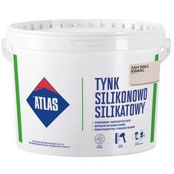 Tynk silikonowo-silikatowy Atlas kwarc 25 kg