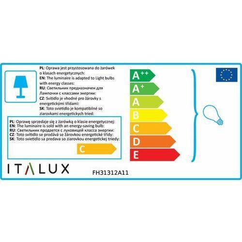 Lampy sufitowe, Kinkiet Italux Lucien FH31312A11 oprawa sufitowa lampa ścienna 2X35W GU10 biały