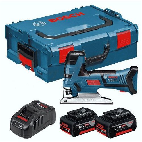 Wyrzynarki, Bosch GST 18 V-LI 2x2.5 Ah + walizka