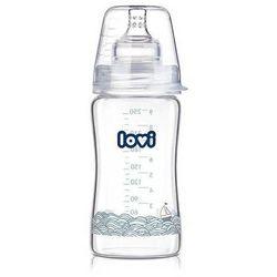 LOVI Butelka szklana Diamond Glass Marine 250ml 74/201