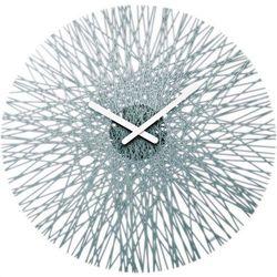 Zegar ścienny antracytowy Silk