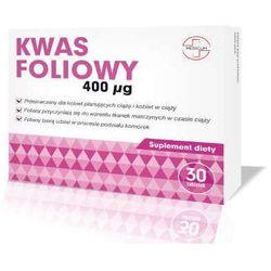 Kwas foliowy 400µg x 30 tabletek