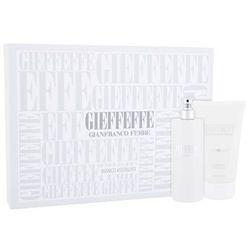 Gianfranco Ferré Gieffeffe Bianco Assoluto zestaw Edt 100 ml + Żel pod prysznic 100 ml unisex