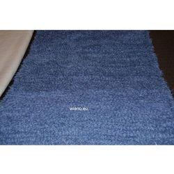 Chodnik bawełniany ręcznie tkany, ciemno-niebieski 65x120 cm (k-62)