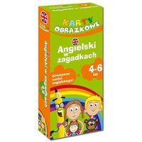Językoznawstwo, Angielski W Zagadkach 4-6 Lat (Książeczka Z Kartami Obrazkowymi)
