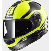 Kaski motocyklowe, KASK LS2 FF325 STROBE ZONE HI-VIS YELL/BLACK