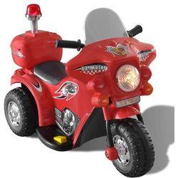 vidaXL Motocykl zasilany na baterię (czerwony) Darmowa wysyłka i zwroty