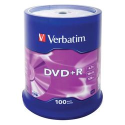 Płyta VERBATIM DVD+R Matt Silver
