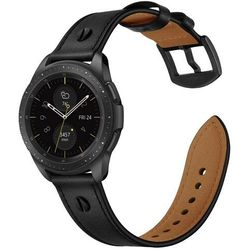 Pasek Skórzany Screwband do Galaxy Watch 3 45mm Black
