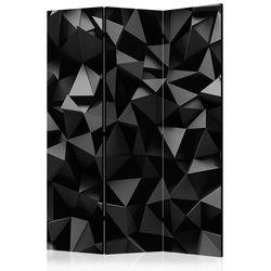 Parawan 3-częściowy - Głębia geometrii [Room Dividers]