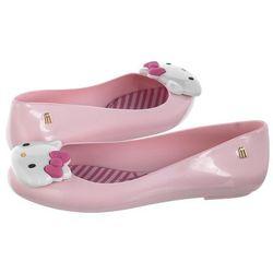 Baleriny Melissa Space Love + Hello Kitty 32677/50552 Pink/White (ML116-a)