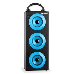 Auna Beachboy XXL Kolumna głośnikowa Bluetooth USB SD AUX UKF akumulator kolor niebieski
