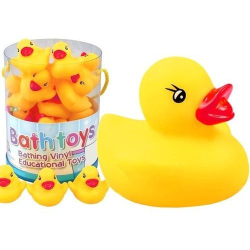 Gry dla dzieci, Zestaw kaczuszek gumowych do kąpieli - Lean Toys DARMOWA DOSTAWA KIOSK RUCHU