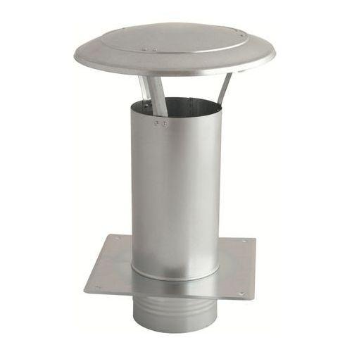 Akcesoria do dachów, Daszek wywietrznikowy (wywietrzak) 150mm z podstawą (WDA150-OC)