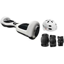 Elektryczna deskorolka smartboard FIAT 500 6.5 Czarno-biały + DARMOWY TRANSPORT!