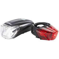 Red Cycling Products Power LED USB zestaw oświetlenia rowerowego, black 2019 Lampki na baterie zestawy Przy złożeniu zamówienia do godziny 16 ( od Pon. do Pt., wszystkie metody płatności z wyjątkiem przelewu bankowego), wysyłka odbędzie się tego samego dnia.
