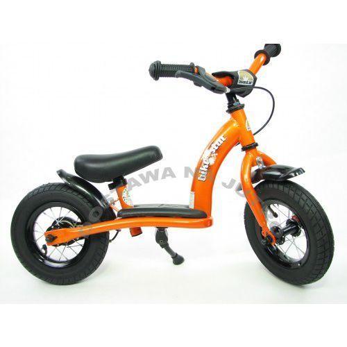 """Rowerki biegowe, Rowerek biegowy 10"""" NISKI od 2 lat BIKESTAR GERMANY classic kolor pomarańczowy"""