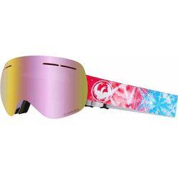 gogle snowboardowe DRAGON - Dr X1S 3 Galaxy Llpinkion+Lldksmk (400) rozmiar: OS
