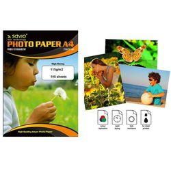 Savio papier PA-13 A4 błyszczący 100 ark Darmowy odbiór w 21 miastach!
