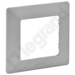 Ramka pojedyncza VALENA LIFE Legrand aluminium 754131