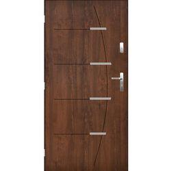 Pantor Drzwi zewnętrzne Braga orzech szlachetny 90L