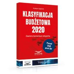 Klasyfikacja Budżetowa 2020 - Krystyna Gąsiorek (opr. kartonowa)