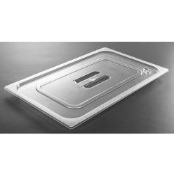 Pokrywka do pojemników GN z poliwęglanu | przeźroczysta | różne wymiary