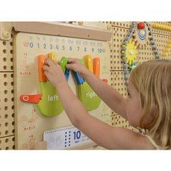 Nauka liczenia tablica edukacyjna drewniana masterkidz interaktywna